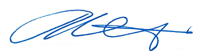Chief Commissioner's signature